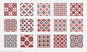 Patterns 25x25 Squares Hamahelmet Hama Beads Cross