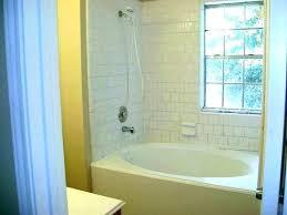 shower shower outstanding corner bathtub shower bath combo tub ideas