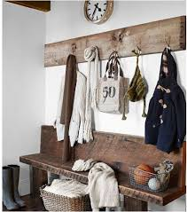 Enclosed Coat Rack