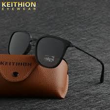 <b>KEITHION</b> TR90 Slim Fit <b>Sunglasses</b> Mens <b>Womens Polarized</b> Retro ...