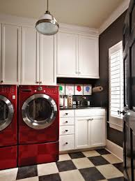 Washer And Dryer In Kitchen Beautiful And Efficient Laundry Room Designs Hgtv