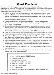 Pictures on Critical Thinking Math Word Problems, - Easy Worksheet ...