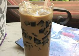 Recipe of Grass Jelly Cappuccino   Cooking Guide