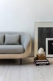 gorgeous living room with alternative side table. Fredericia sofa Haiku Low  by GamFratesi. Haiku