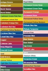 Americana Acrylic Paint Color Chart Pin By Iza Bela Z On Izas Artwork Paint Color Chart