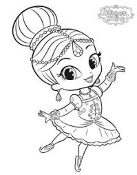 Give Your Lovely Children Shimmer And Shine Coloring Pages Free