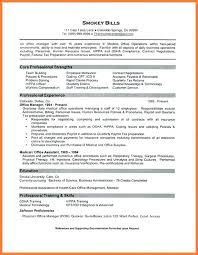 Resume For Office Manager Position Office Manager Resume Office Manager Resume 3 Chiropractic Office