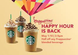starbucks frappuccino flavors 2015. Simple Flavors Starbucksfrappuccinohappyhour Throughout Starbucks Frappuccino Flavors 2015 C