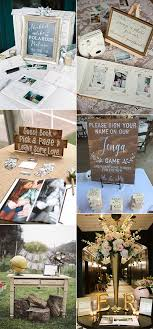 15 Trending Wedding Guest Book Sign In Table Decoration