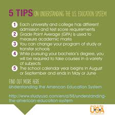 5 Tips On Understanding The U S Education System
