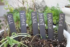 herb signs for garden nice idea custom herb or ve able labels handmade ceramic herb garden