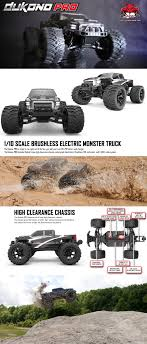 Dukono Pro 1 10 Scale Brushless Electric Monster Truck