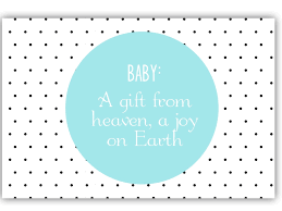 Baby Shower Bingo Cards  Real HousemomsBaby Shower Cards To Print