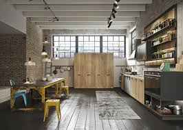 modern loft furniture. Vintage Industrial Kitchen Loft 800x571 - LOFT Linear Modern Furniture H