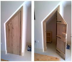 image of under stairs storage design