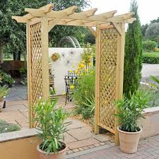 Small Picture Modren Garden Archways Wooden Arches And Decorating Ideas
