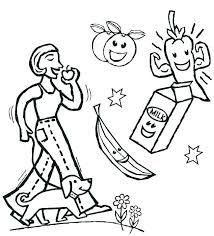Healthy Heart Coloring Pages Healthy Coloring Pages Healthy Food
