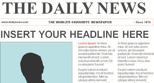 Basic Newspaper Template Basic Newspaper Template