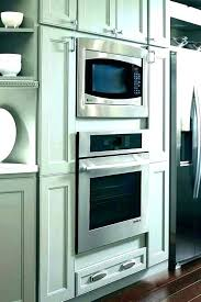 home depot double 24 inch double wall oven cabine 24