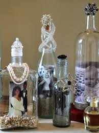 Wine Bottle Decorations Handmade Display Photos In Upcycled Bottles Howtos DIY 62
