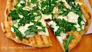 Bobby Flay Outdoor Kitchen My Carolina Kitchen Pizza On The Grill