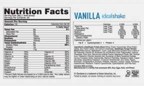 11 mon misconceptions about shakeology vanilla nutrition label shakeology vanilla nutrition label