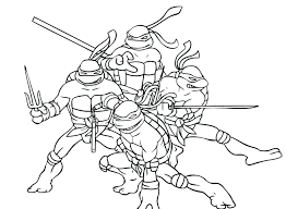 Ninja Turtle Coloring Book Pictures Free Printable Colouring Pages ...