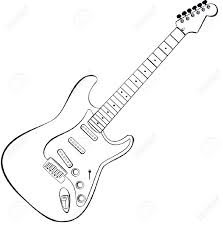 Related post for how to draw a electric guitar