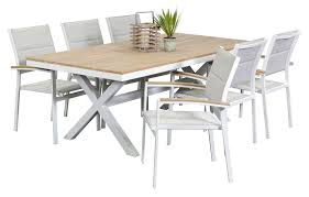 outdoor table and chairs. Granada 6 Seater, Outdoor Dining Furniture, Settings, Table And Chairs O