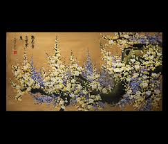 canvas wall art anese cherry blossom painting feng s painting