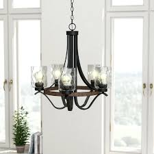 5 light chandelier laurel foundry modern farmhouse indoor shaded alturas satin bronze