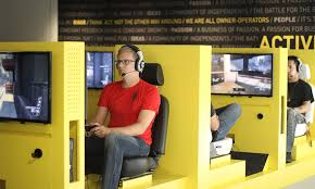 activision blizzard coolest offices 2016. Video Gamers Would Love Activision Blizzard\u0027s Office Digs In Santa Monica. One Of The Largest Interactive Entertainment Companies US, Blizzard Coolest Offices 2016