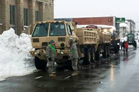 u s department of defense photo essay troops help remove snow prepare for floods