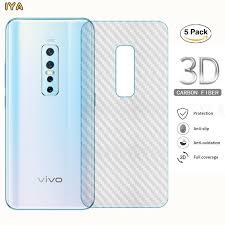<b>5 Pcs</b>/<b>Lot</b> Vivo V17 Pro Vivo V15 Vivo V15 Pro <b>3D Clear Carbon</b> ...