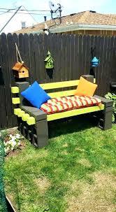 cinderblock furniture. Simple Furniture Cinder Block Furniture Backyard 1000 Images About Outdoor Seating Intended Cinderblock E