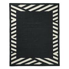 black border area rugs striped indoor outdoor rug o black border wool rug bordered area
