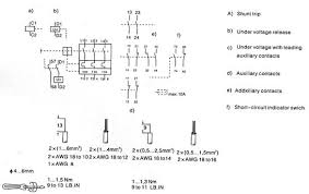 shunt trip wiring diagram solidfonts circuit shunt trip breaker wiring diagram nilza net square d