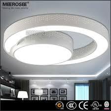 cheap ceiling lighting. Modern LED Ceiling Light Fixture Flush Mounted Acrylic Ring Household Mount Led Fixtures With Regard To Cheap Lighting