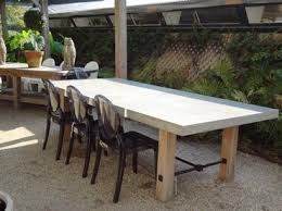 strikingly inpiration concrete outdoor dining table 15 concrete outdoor dining table i77