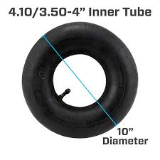 Lawn Mower Tire Tube Size Chart