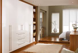 White And Walnut Bedroom Furniture Contrasting White Bedroom Furniture With Neutral Colours Creates