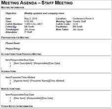 How To Write An Agenda Of A Meeting 32 Best Meeting Minutes Agendas Images In 2019 Meeting