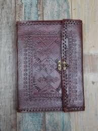 shakti man shakti gifts stationery bo indra embossed leather journal xl