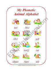 Learn vocabulary, terms and more with flashcards, games and other study tools. My Phonetic Animal Alphabet Part 1 2 By Blunderbuster Esl Worksheet By Blunderbuster