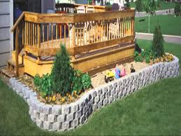 Small Picture Small Home garden retaining wall ideas YouTube