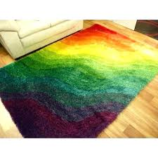 rainbow colored area rugs multi color block rug large abstract design red