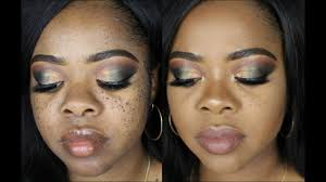 how to i cover my moles freckles foundation only brown dark skin