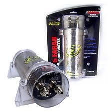 stinger car audio capacitors sound quest cap5m by stinger 5 farad car audio capacitor