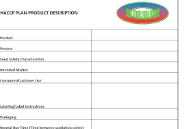 Haccp Plan Template Document Template And Beautiful Create Templates To Flowcharts