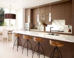 Furniture: White Modern Counter Chairs - Bar Stools